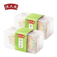 沈大成纯绿豆糕 传统手工冰皮糕点点心 上海特产 绿豆酥180g